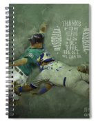 Baseball 01 Spiral Notebook