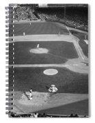 Baseball Game, 1967 Spiral Notebook