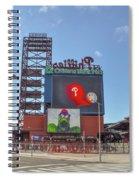 Baseball In Philadelphia - Citizens Bank Park Spiral Notebook