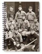 Baseball: West Point, 1896 Spiral Notebook