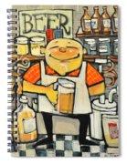 Basement Brewer Spiral Notebook