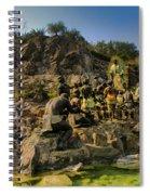 Basilica De Guadalupe 9 Spiral Notebook