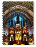 Notre - Dame Basilica - Montreal Spiral Notebook