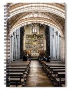Basilica Of San Isidoro De Leon - Interior Spiral Notebook