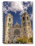 Basilica Of The Sacred Heart Newark New Jersey Spiral Notebook