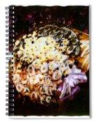 Basket Bouquet Spiral Notebook