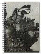 Basket Of Fruit Spiral Notebook