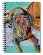 Basket Retriever Spiral Notebook