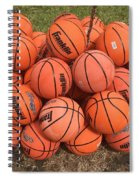 Basketbal Anyone Spiral Notebook
