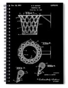 Basketball Net Patent 1951 In Black Spiral Notebook