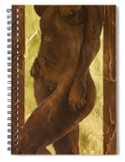 Basking In The Glow Spiral Notebook