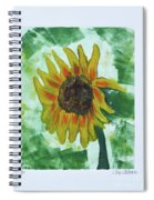 Basking In The Sun Spiral Notebook