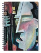 Bass Face Spiral Notebook