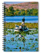 Bass Fishing Spiral Notebook