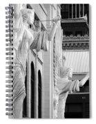 Bass Hall Fort Worth 520 Bw V4 Spiral Notebook