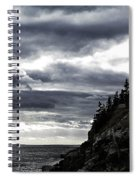 Bass Harbor Lighthouse In Acadia Np Spiral Notebook
