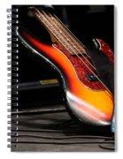 Bass Spiral Notebook