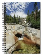 Bassi Falls...nature Nurtures Spiral Notebook