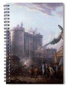 Bastille Spiral Notebook