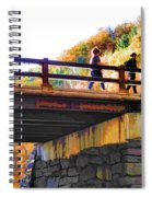 Bastion Falls Bridge 1 Spiral Notebook