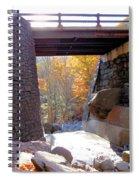 Bastion Falls Bridge 7 Spiral Notebook