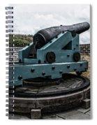 Bastion Gun Spiral Notebook