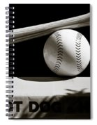 Bat And Ball Spiral Notebook