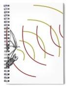 Bat Bio Sonar Spiral Notebook