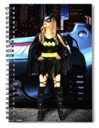 Bat Gal In The City Spiral Notebook