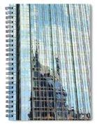 Bat Tower Reflected Spiral Notebook