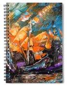 Bataille Navale Spiral Notebook