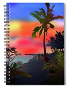 Echo Beach, Bali Spiral Notebook