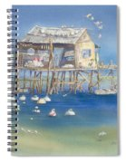 Bates Bait And Buoys Spiral Notebook