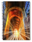 Bath Abbey Sun Rays Spiral Notebook