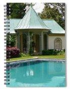 Chanticleer Bath House A Spiral Notebook