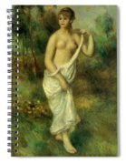 Bather 1887 1 Spiral Notebook