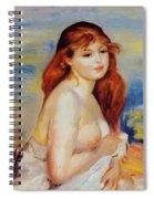 Bather 1887 Spiral Notebook
