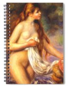 Bather 2 Spiral Notebook