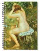 Bather Is Styling 1890 Spiral Notebook