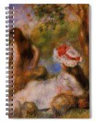 Bathers 1894 Spiral Notebook