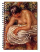Bathing 1915 Spiral Notebook