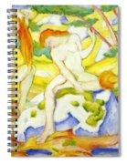 Bathing Girls 1910 Spiral Notebook