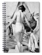 Bathing Nude, 1902 Spiral Notebook