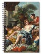 Bathsheba At Her Bath Spiral Notebook