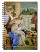 Bathsheba Bathing Spiral Notebook