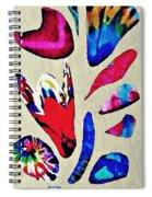 Batik Bouquet Spiral Notebook