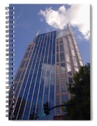 Batman Building In Down Town Nashville Spiral Notebook