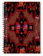 Bats In The Dark Spiral Notebook