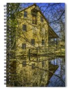 Batsto Gristmill Reflection Spiral Notebook