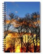 Battery Park Sunset Spiral Notebook